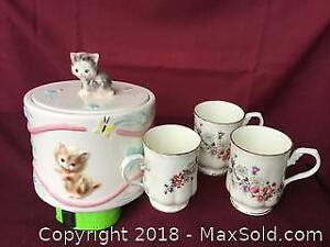 Cups And Cookie Jar