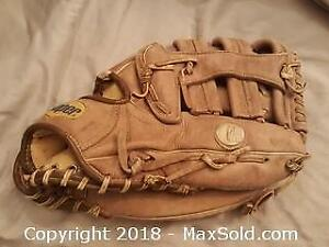 Cooper Leather Baseball Glove