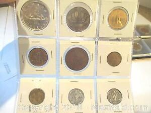 Mixed Lot Of Canadian Silver Dollars And Assorted Canadian Collectable Coins.