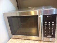 3 MONTH OLD STAINLESS STEEL MICROWAVE $80 FIRM, NOT NEGOTIABLE