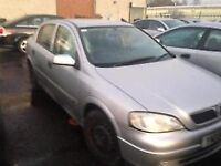 2001 VAUXHALL ASTRA 1.6 - BREAKING FOR PARTS