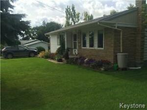 Established garden, park access & limited lakeview in Shoal lake