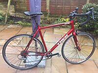 RACING BICYCLE, AS NEW TREK 1.1 ROAD BIKE .. 60cm Frame, height 5' 10 to 6' plus. £200 ono.