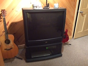 36 inch JVC TV with stand