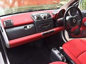 Smart ForTwo Coupe Passion Turbo 2dr Auto (84BHP) Semi-Automatic Red Interior Edition