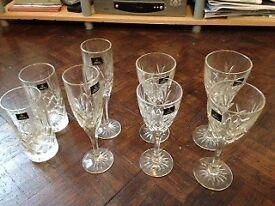 Royal Doulton glasses- excellent condition