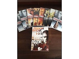 Prison Break Complete Seasons 1, 2, 3