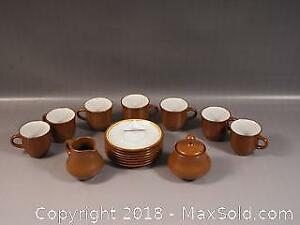 Vintage Stoneware by Noritake coffee tea set. New, never used