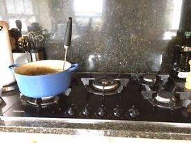 Miele Electric Double Oven and Gas Hob