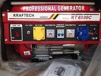 6.5kw 2.8kva Brand New Generator
