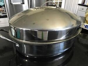 Large stainless steel Gourmet Buffet roaster,