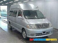 FRESH IMPORT TOYOTA GRAND HIACE HIGH ROOF 4WD AUTOMATIC CAMPER