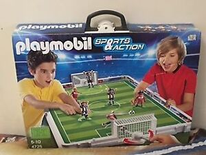 Playmobil Take Along Soccer Match (#4725)