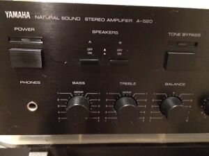 Yamaha A-520 Vintage Stereo Amplifier