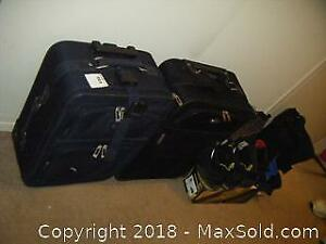 Luggage And Men's Boots A