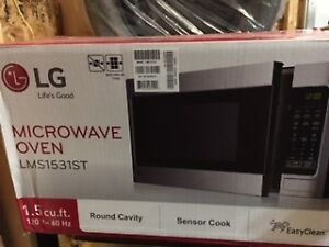 LG 1.5 Cubic Foot Microwave (brand new)