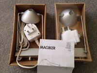 Magiker lights, IKEA, two, still in original boxes