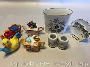 Collection Of Miniature China