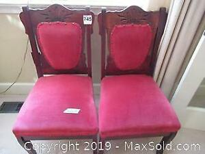 Antique Dining Chairs A