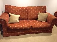 Sofa sette and matching chair