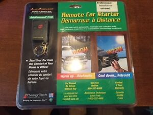 Brand New in Box Remote Car Starter-Design Tech 2100