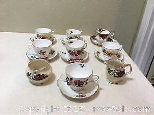 Assorted Cups And Saucers
