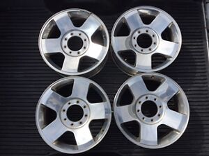 "4 - 20"" Ford Alloy Wheels"