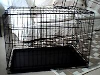 Small dog crate and other things