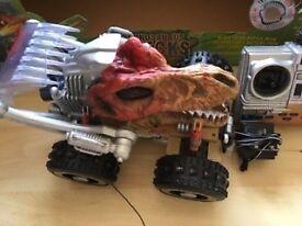 Radio Control/Remote Control Tyrannosaurus Wrecks