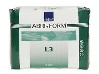 ABRIFORM incontinence pads size L2 & L3