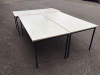 Maple 1.8m straight desk