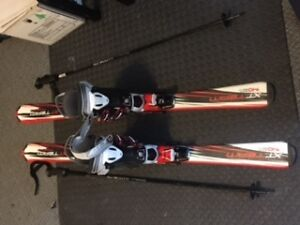 Ski Set for Early Teen Years- 10-12, HARDLY USED!