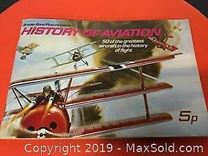 Complete set in booklet Aviation Tea cards