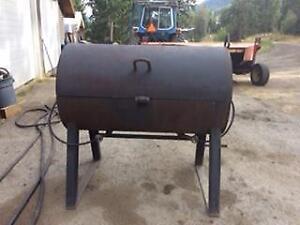 large custom made BBQ