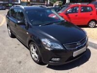 2010/60 KIA CEE'D 1.6 CRDI 3 ESYATE 5DR BLACK,HIGH SPEC,SUPPLIED WITH NEW MOT LOOKS AND DRIVES WELL
