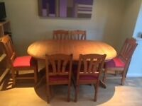 Ikea Abo Dining Table and Chairs