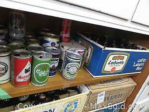 Beer Cans And Stubby Bottles B