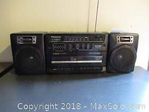 F. Panasonic Boom Box A