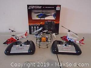 5 RC Helicopters Toys
