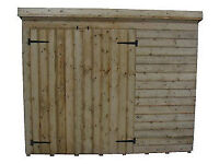 NEW GARDEN STORAGE/BIKE SHED 6 x 4 x 5 £235