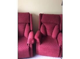 """As New """"Queen Anne Orthopedic Chairs"""""""
