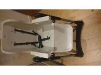 TecTake High Chair in red