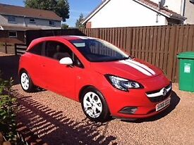 Vauxhall Corsa Red 1.4 Sting Excellent Condition As New