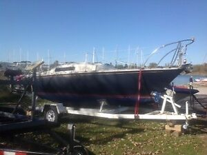 $3000.00 CS22 sail boat with trailer with optional engine