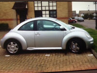 Much-loved VW Beetle, highly reliable, 10 months MOT, the best car I have ever owned