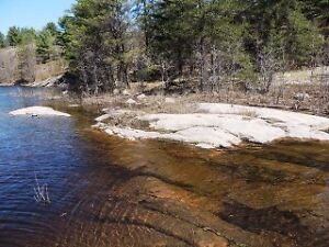 WATERFRONT LOT ON FRENCH RIVER