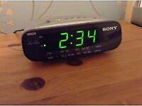 Sony Dream Machine FM/AM Clock Radio ICF-C212