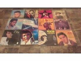 Elvis LP collection