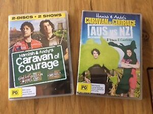 Hamish and Andy's Caravan of Courage DVD Combo