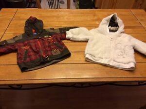 veste/manteau d'automne 18 mois garcon